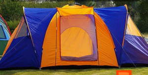 Lều du lịch 10 người 3 góc M1003 2 triệu 200k