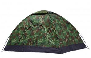 lều du lịch 2 người 1 lớp rằn ri, lều trại rằn ri, lều lính dành cho 2-3 người, lều lính cửa tròn