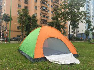 lều du lịch 6 người, cửa rộng thoáng, chống chịu mưa tốt, giá cả rẻ nhất chỉ 590k