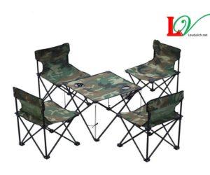 Bộ bàn ghế du lịch, bộ bàn ghế phượt, bộ bàn ghế gập dã ngoại