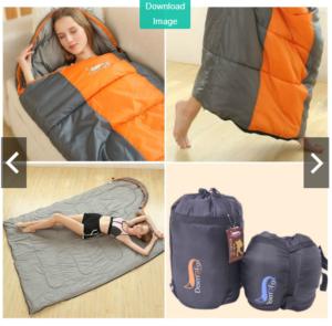 Túi ngủ văn phòng cao cấp Desert Fox