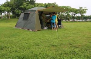 lều picnic cho cơ quan tập thể, lều 10 -12 người thông thoáng rộng mát