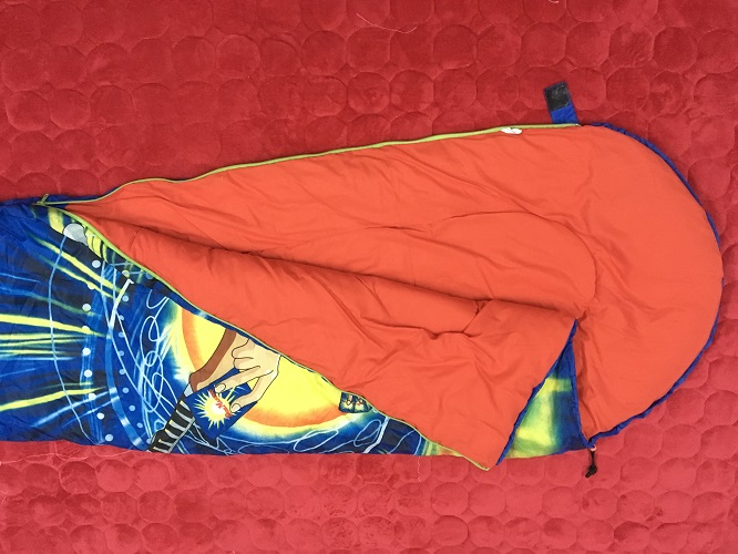 Túi ngủ siêu nhân cho bé