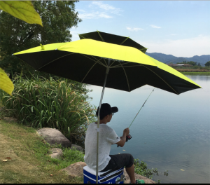 ô đi câu thông minh uốn 180 độ, chống mưa nắng cực tốt