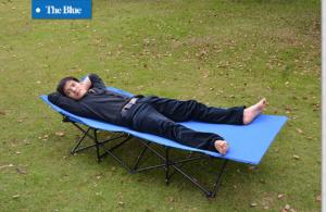 ghế nằm thu gọn đa năng tiện lợi sử dụng, phù hợp  đi cắm trại
