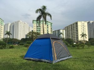 Lều cao cấp 4 người Outwell bản 2018