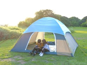 Lều trại 10 người nằm hàng VNXK chính hãng, BH 36 tháng
