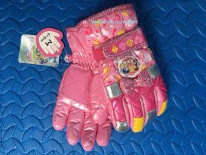 Găng tay cho bé gái chống nước chống lạnh tuyệt đối
