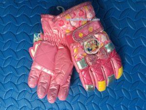 Găng tay cho bé gái chống nước giữ ấm tuyệt đối