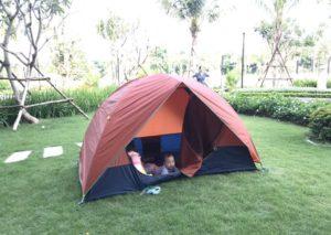 Lều du lịch 2 người 2 lớp cao cấp tại HN, HCM. BH 36th