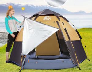 Kinh nghiệm mua lều cắm trại 5 người, lều cắm trại chống mưa
