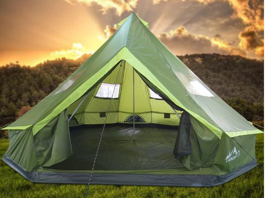 Lều siêu to, lều đại bản doanh cho 15-16 người, lều khổng lồ,