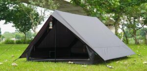 Mẫu lều cắm trại Vintage home 4-5p (4-5 người) màu trắng